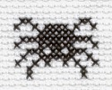 spider cross stitch